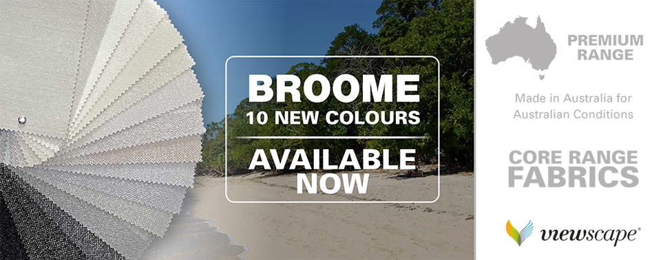 Broome 10 new fabric colours 100521