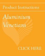 Pdf button aluminium venetians fitting instructions